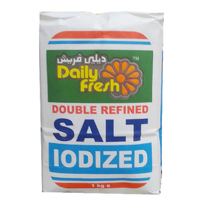 Daily Fresh Double Refined Iodized Salt 1kg