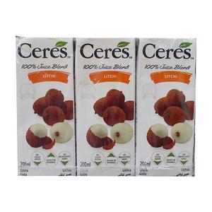 Ceres Litchi Juice Packs 6x200ml