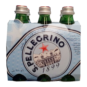 San Pellegrino Natural Sparkling Water 6x250ml