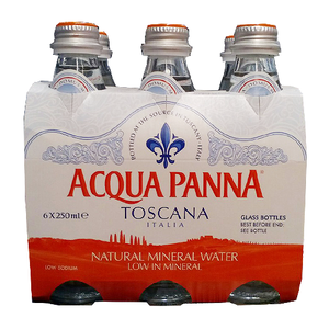 Acqua Panna Natural Mineral Water 6x250ml