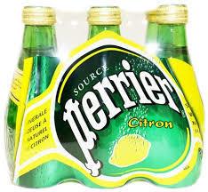 Perrier Mineral Water Sparkling Lemon 6x200ml