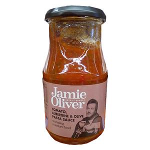 Jamie Oliver Tomato, Aubergine & Olive Pasta Sauce 385ml