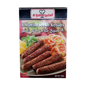 Al Kabeer Mutton Seekh Kabab 320g