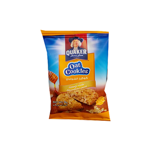 Quaker Oat Cookies Honey Nuts 9g