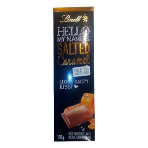 Lindt Hello Bar Salted Caramel 100gm