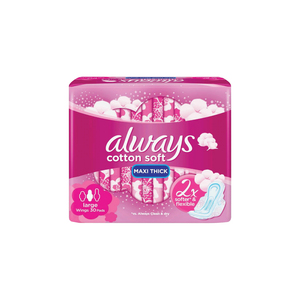 Always Clean & Dry Maxi Thick Large Sanitary Pads 30pcs