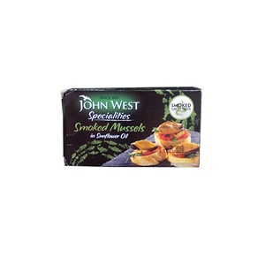 John West Smoked Mussels 85g