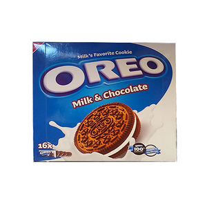 Nabisco Oreo Biscuits Milk & Chocolate 16x38g