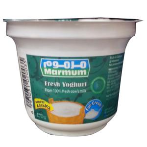 Marmum Fresh Full Cream Yoghurt 170g