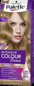 Palette Intensive Color Cream 8 0 Light Blonde 50ml