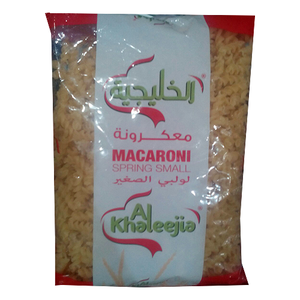 Al Khaleejia Spring Small Macaroni 400g