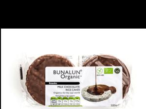 Bunalun Milk Chocolate Rice Cake 100g