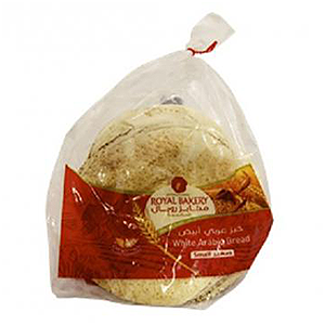 Royal Bakers Arabic Bread White Small 175g
