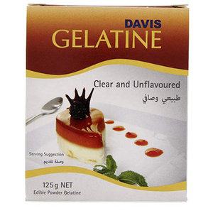 Davis Gelatin 125g