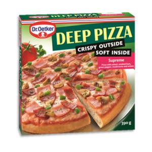 Dr. Oetker Deep Pizza Supreme 405g