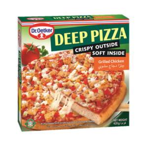DR.Oetker Deep Pizza Grilled Chicken 420gm