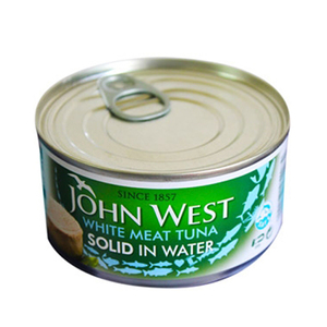 John West White Tuna Solid In Water 170g