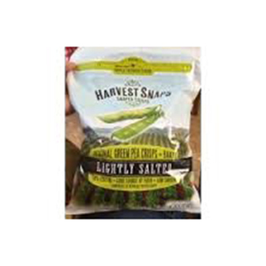 Harvest Snaps Chips Green Pea Lightly Salted 93g