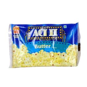 Act Ii Butter Lovers Microwave Popcorn 28/3 oz