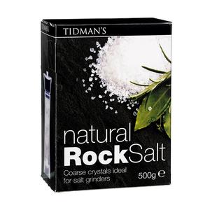 Tidman's Natural Rock Salt Crystals 500G