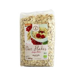Organic Larder Demeter Large Oats Flakes 500g