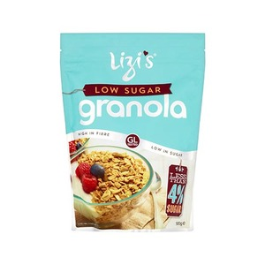 Lizis Cereals Granola Low Sugar 500gm