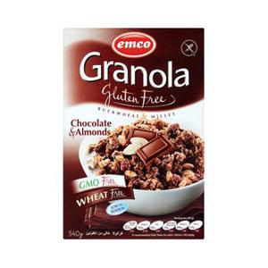 Emco Gluten Musil W/ Chocolate&Almnd 3 340gm