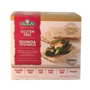 Orgran Crispibread With Quinoa 125g