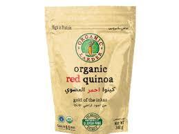 Organic Larder Red Quinoa 340g