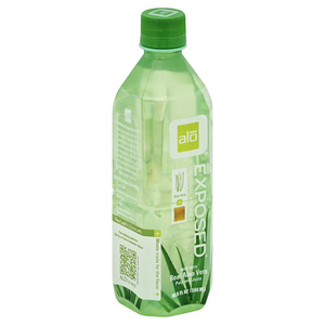 Alo Juice Beverage, Exposed, Original + Honey 16.9oz