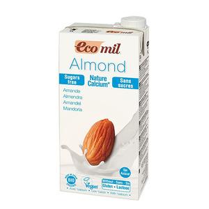 Ecomil Almond Drink Nature Calcium Sugar Free 1L