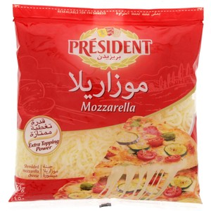 President Shredded Mozzarella 200gm