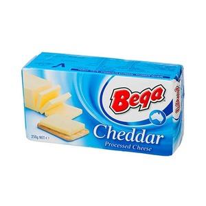 Bega Processed Cheddar Cheese - 250 gm