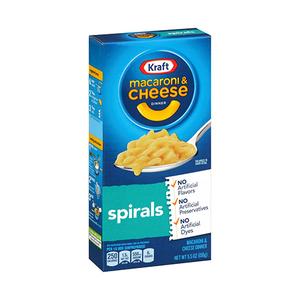 Kraft Spiral Mach Cheese Dn 156g