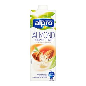 Alpro Almond Unsweetened Drink 1L