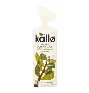 Kallo Organic Salted Rice Cakes 130g