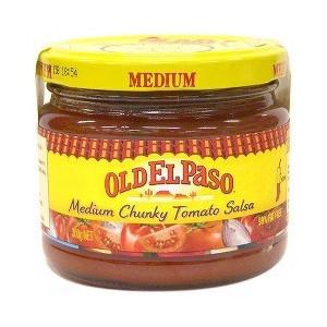 Old El Paso Thick N Chunky Salsa Medium 300g