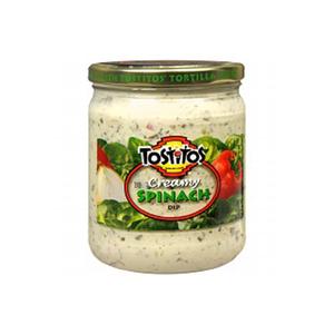 Tostitos Creamy Spinach Salsa 15oz