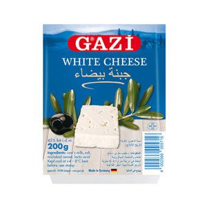 Gazi White Cheese 45% 200gm