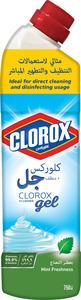 Clorox Mint Freshness Scent Multi Purpose Bleach Gel Disinfectant Cleaner 750ml