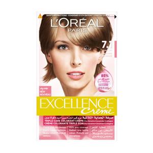 L'Oreal Paris Excellence Hair Color Light Blonde 7.1 1set