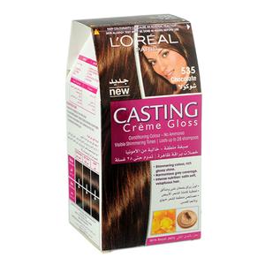L'Oreal Paris Casting Creme Gloss 535 Chocolate Haircolor 1set