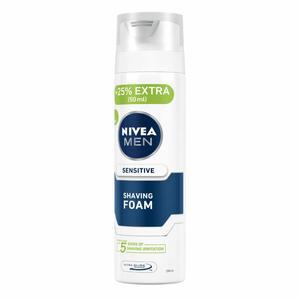 Nivea Men Sensitive Shaving Foam Chamomile & Hamamelis 200ml