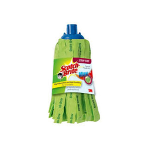 3 M Ultra Strip Mop Max Green With Stick 1set