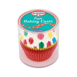 Dr Oetker Fun Baking Cases 75cases