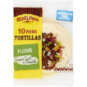 Old El Paso Mini Tortillas 1pc