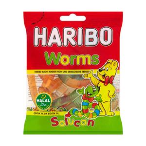 Haribo Worms 160gm