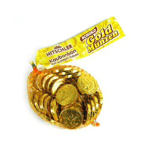 Hitschler Candy Coins 150gm