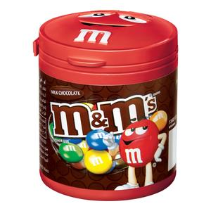 M&M's Milk Chocolate Canister 100g
