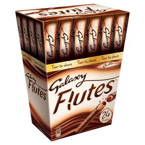 Galaxy Flutes Chocolate Twin Fingers 24x11.3g